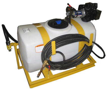 50 gallon Turbo Turf electric Brine Sprayer