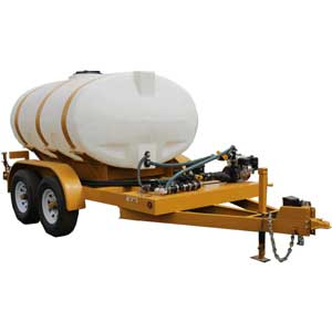 Turbo Turf Trailer Type brine sprayer