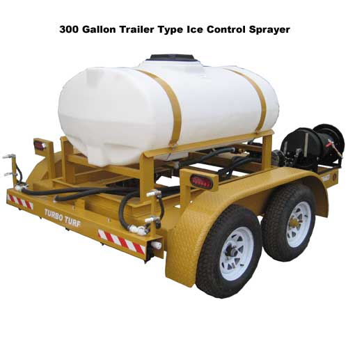 300 Gallon Trailer Type Ice Control Sprayer