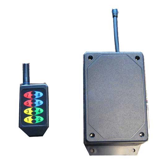 Wireless control for 3 lane Brine Sprayers